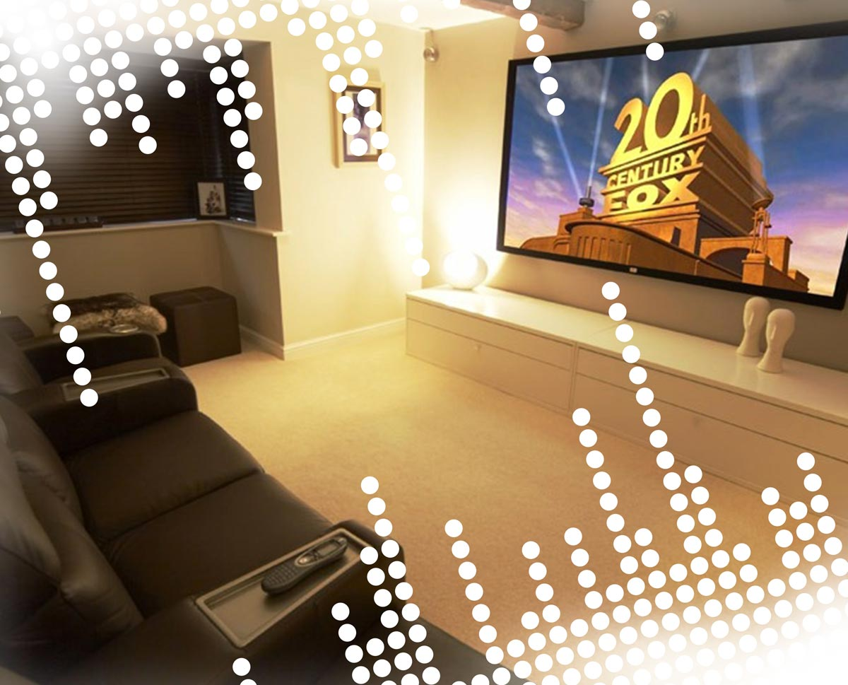 Enhance your home and enjoy your leisure time more than ever by getting Just Push Play to install the best home theater system you can afford.
